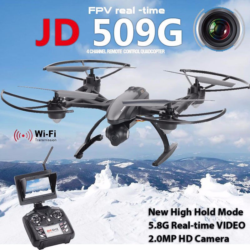 JXD 509G JXD509G Wifi 5.8G FPV With 2.0MP HD Camera High Hold Mode RC Quadcopter Model Toys Gifts VS Walkera VITUS jxd 509 jxd 509g jxd509g 509w 509v quadcopter upper body shell cover