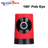 180 Degree Panoramic Fish Eye Lens Mini Wireless IP Camera 720P Wifi Night Vision CCTV Security