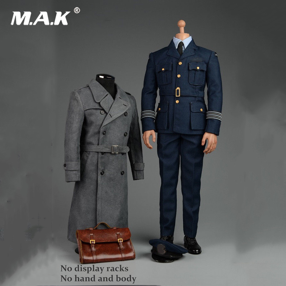 1/6 WWII Allies Commander Windbreaker Uniforms F 12
