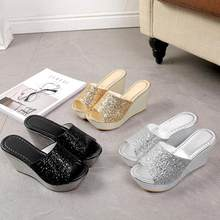 92310c4981 Popular Gold Sequin Wedges-Buy Cheap Gold Sequin Wedges lots from ...