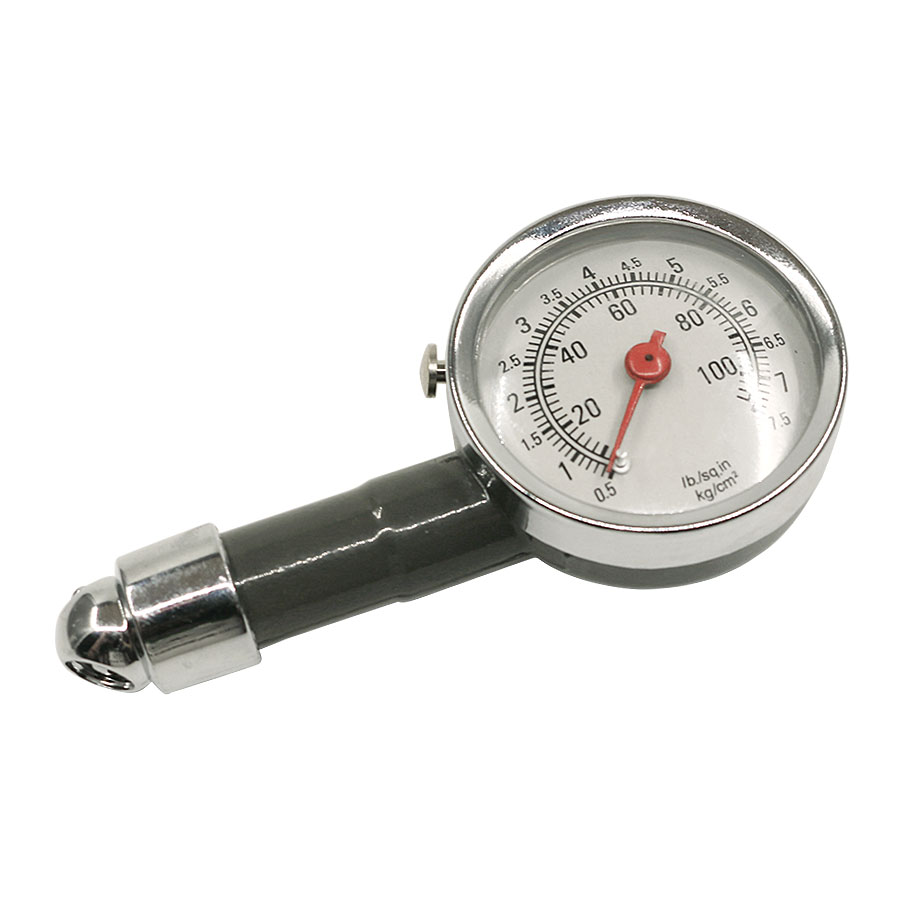 High Pressure Meter : Metal car high precision tire pressure gauge auto air