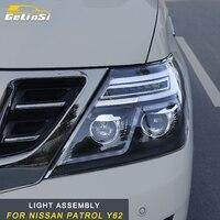 GELINSI свет сборки салонные аксессуары для Nissan Patrol Y62 авто