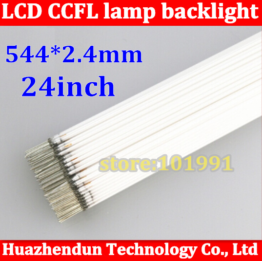 20pcs Hot Sale CCFL 544mm 2 4mm 24 wide screen CCFL tube Cold cathode fluorescent lamps