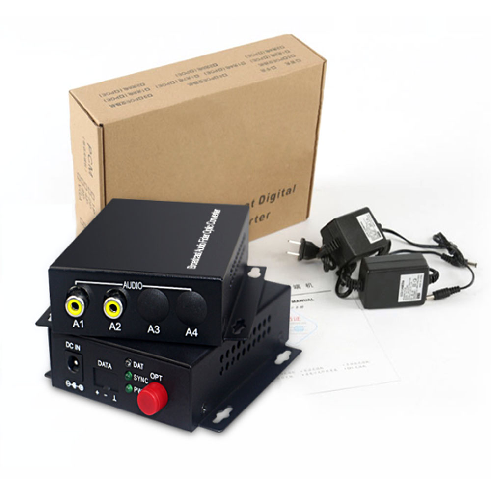 Image 3 - 2 Audio Over FC Fiber optic Extender (one way) Transmitter and Receiver, for Audio intercom broadcast system (Tx/Rx) Kit-in Fiber Optic Equipments from Cellphones & Telecommunications