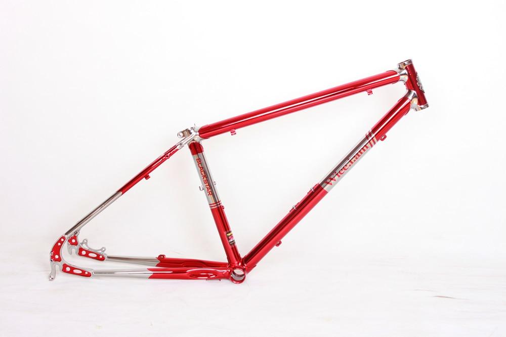Lug4130 Chrome Molybdenum Steel Frame 700C Road Bicycle Retro Bicycle Mountain Bike Frame Reynolds Frame