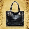 Lujo Bolsos de Cuero genuino Mujeres Bolsas de Mensajero bolsa feminina Bolsos de Hombro bolsas para mujeres de las Señoras de Las Mujeres de Cuero Bolsa de Q5