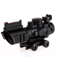 4X Reflex Optics Riflescope Tactical Sight For Hunting Gun Rifle Magnifier Aimpoint Scope