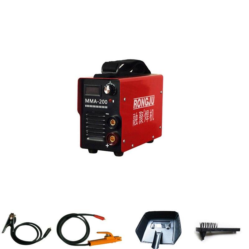 220V   MMA-200 140A Portable household Electric Welding Machine Mini Inverter DC Arc Welder Meet CE ROSH