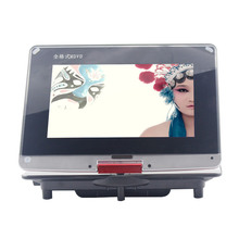 Full format 14 Inch Multifunction Portable Home DVD Player TV Support USB Port,SD Card Play And Swivel HD Screen Touch keys E VC