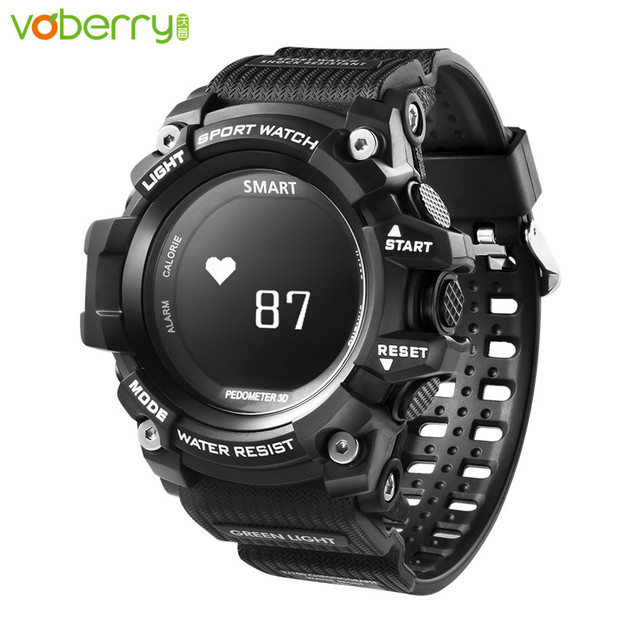 VOBERRY T1 Smart Watch Bluetooth Outdoor Sport Clock IP68 Waterproof Heart Rate Monitor Watches For IOS Android Phone Smartwatch