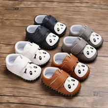 Newborn Baby Boy Shoes First Walkers Spring Autumn Baby Boy Infant Cartoon Soft Sole Shoes 0-18 Months