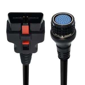 Image 5 - טוב באיכות SD חיבור קומפקטי 4 ראשי בדיקות כבל OBD II 16PIN עבור MB הכוכבים SD C4 רכב אבחון כלי כבל מתאם