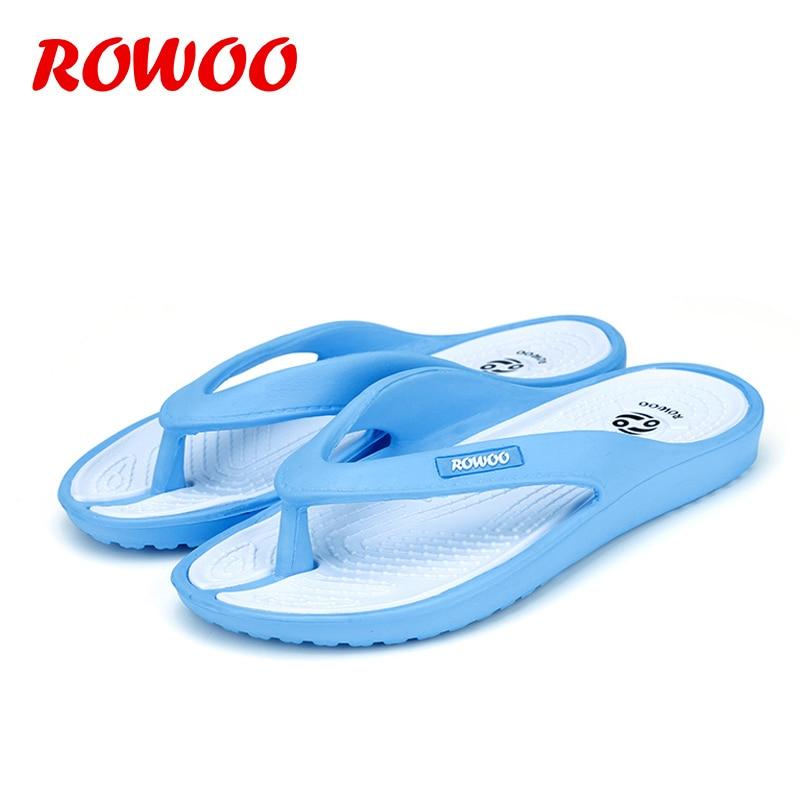 ee7f97f86804b EVA Women Casual Massage Durable Flip Flops Beach Water-friendly Summer  Slippers Sport Sandals Shoes Lady Flip-flop Girl Sandal