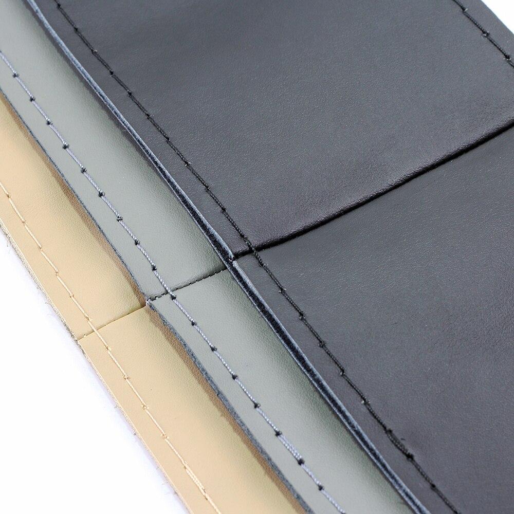 VENSECO mekana prave kožne obloge na upravljaču klasičnog DIY - Dodaci za unutrašnjost automobila - Foto 3