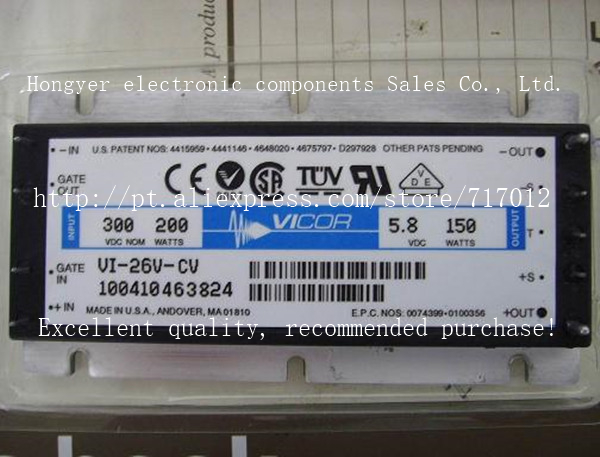 Free Shipping VI-26V-CV DC/DC: 300V-5.8V-150W ,Can directly buy or contact the seller vicor vi bw3 cv vi bw3 iv vi bw3 ev