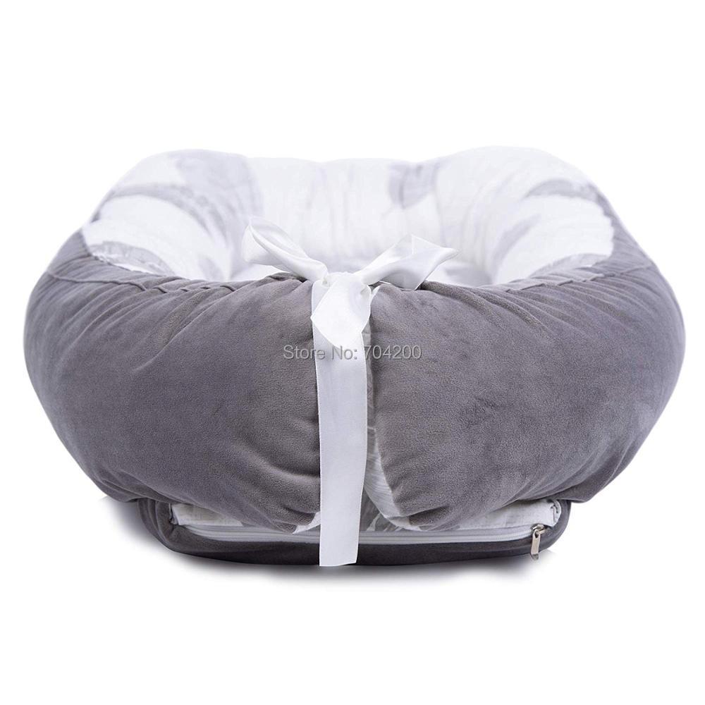 Детская кроватка-гнездо переносная съемная и моющаяся кроватка дорожная кровать для детей Младенческая Детская Хлопковая Колыбель