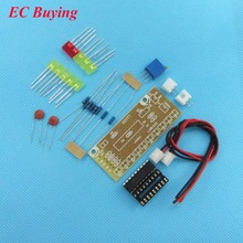 2Pcs LM3915 10 segment Audio Level Indicator LED Module Kit Parts Fun DIY Kit Electronic Production Suite Trousse DC 9V – 12V