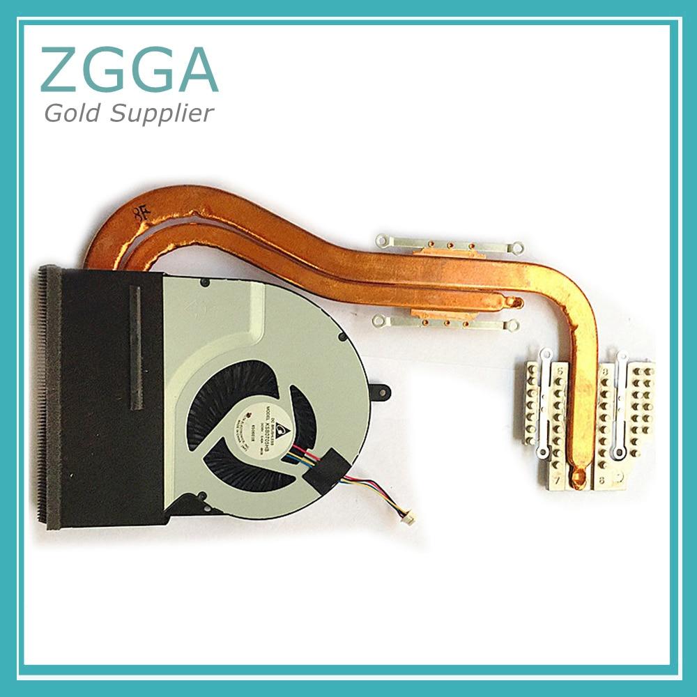 New Original Thin Cpu Cooler For ASUS N56 N56VM N56VJ N56VZ N56DP N56V N76V N76 Heatsink Thick CPU Cooling Fan 13GN9J1AM050-2