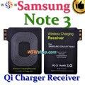 Para samsung galaxy note 3 cargador inalámbrico receptor para galaxy note 3 n9006 alta calidad cargador inalámbrico qi adaptador