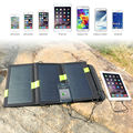Foldable Portable Solar Panels Charger 5V 20W Solar Battery Solar Mobile Phone Charger For iPhone Samsung  iPad and so on.