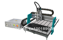 RODEO Free shipping!  cnc  machine 1.5KW VFD water cooled spindle CNC Router 6090 4 Axis