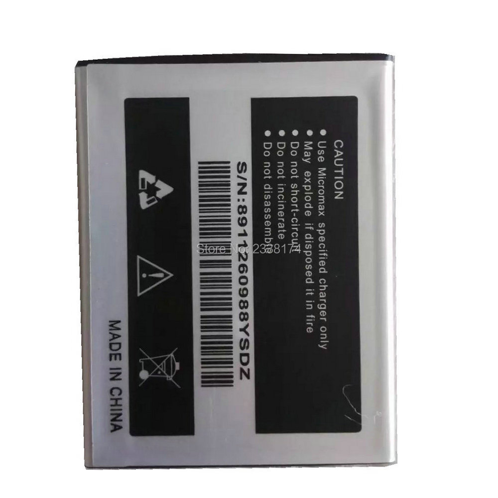 1pcs 100% high quality Micromax A69 2500mAh Mobile Phone Replacement Battery Freeshipping+Tracking Code