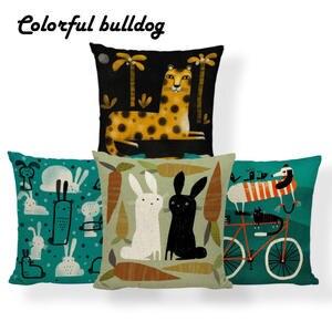 5bdf4c3ec55a Cushion Cover Yellow Decorations Throw Pillow Case Linen