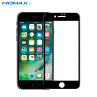 Momax 2 in1 Case for iPhone7 Full Frame Cover Soft Edge 9H Glass 0.3mm 3D Cover Screen Protector for iPhone 7 Plus Front Case