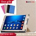Grano de seda cubierta de filp para huawei mediapad m3 8.4 pulgadas tablet pc funda protectora para huawei m3 btv-w09 btv-dl09 shell + regalo