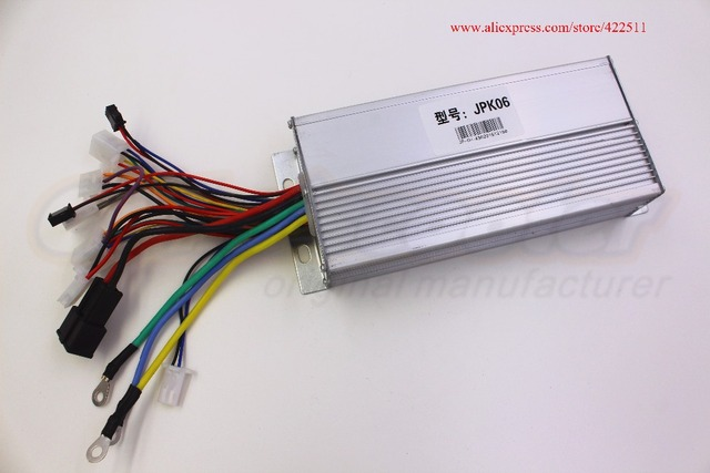 Electric Scooter Motor Controller Wiring Diagram Chamberlain Garage Door Opener 1800w 48v Brushless Dc 43a Bldc With Cruise Alarm Speed Sensor Function