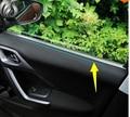Ventana interior tira de ajuste de acero inoxidable decoración para Peugeot 2008 2014 2015 2016