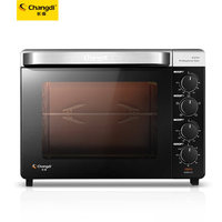 32L Household Baking Oven Multi Functional Electric Oven Cake Bread Enameled Oven With Big Capacity CRTF32K