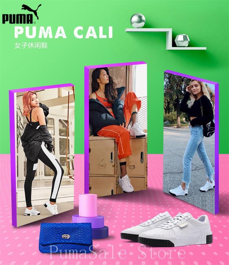 PUMA Women s Cali Sneaker 369155-04 Rihanna Basket Platform 51a60aa92b16