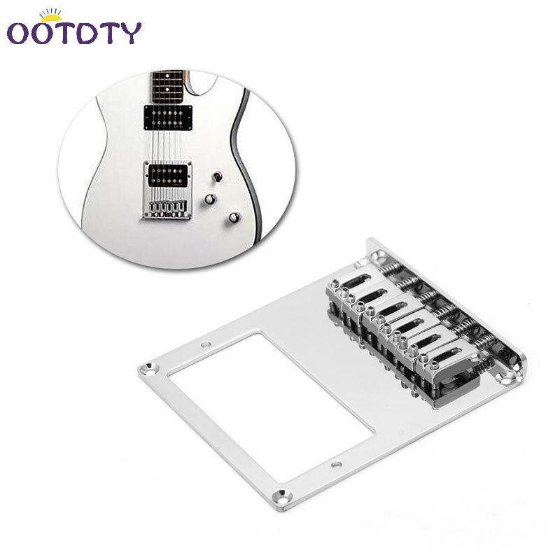 <font><b>Tele</b></font> Electric <font><b>Guitar</b></font> Bridge 6 String Square <font><b>Saddle</b></font> For <font><b>Telecaster</b></font> <font><b>Guitar</b></font> Hot image