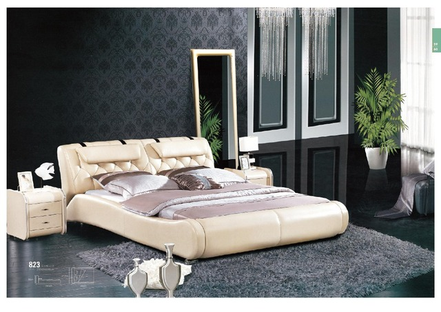 Model Bedroom foshan new model bedroom furniture king size bed prices-in beds
