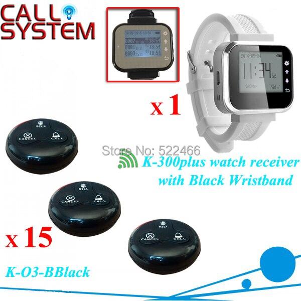 K-300plus O3-BBlack 1 15 Restaurant caller bell system.jpg