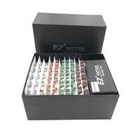 EZ-Kits de tatuaje de 100 piezas, Cartucho para tatuar Revolution, Kits de agujas RL RS CM Magnum con 2 tubos de cartucho de aluminio