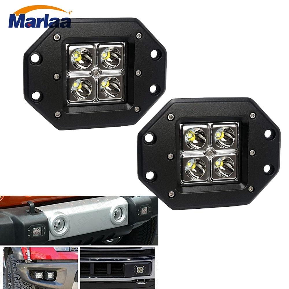 2X 9inch 450W Round LED Work Light Spot Driving Lamp Headlight offroad ATV Truck
