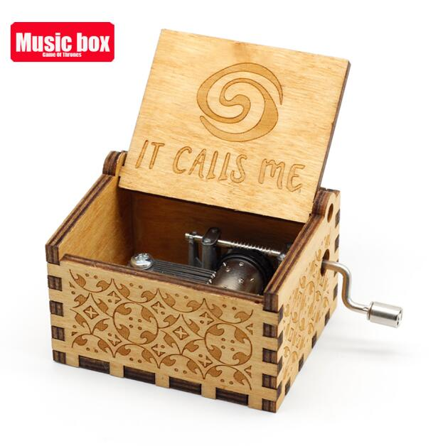 Старинная резная музыкальная шкатулка королева Кривошип Сейлор Мун деревянная музыкальная шкатулка Рождественский подарок на день рождения вечерние украшения - Цвет: Island Princess