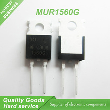 10pcs MUR1560G MUR1560 1560G 600V 15A diode rectifier new original