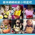 Frete grátis Bebê Ajustável Bandana Bibs Baberos Bibs EVA Plástico Almoço Babadores Para Bebês À Prova D' Água Dos Desenhos Animados Estilo Verão