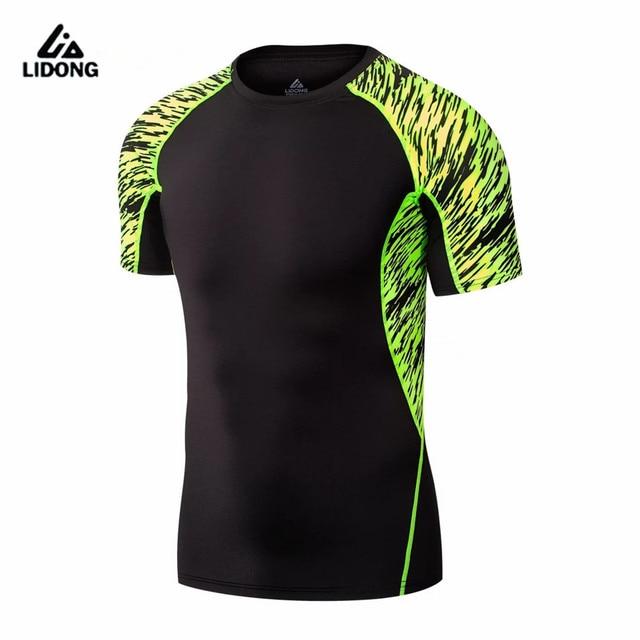 5b81f3ed8d0a8 2017 camisas deporte ajuste seco compresión baloncesto fútbol gimnasio  fitness tops respirable rápido seco yoga running