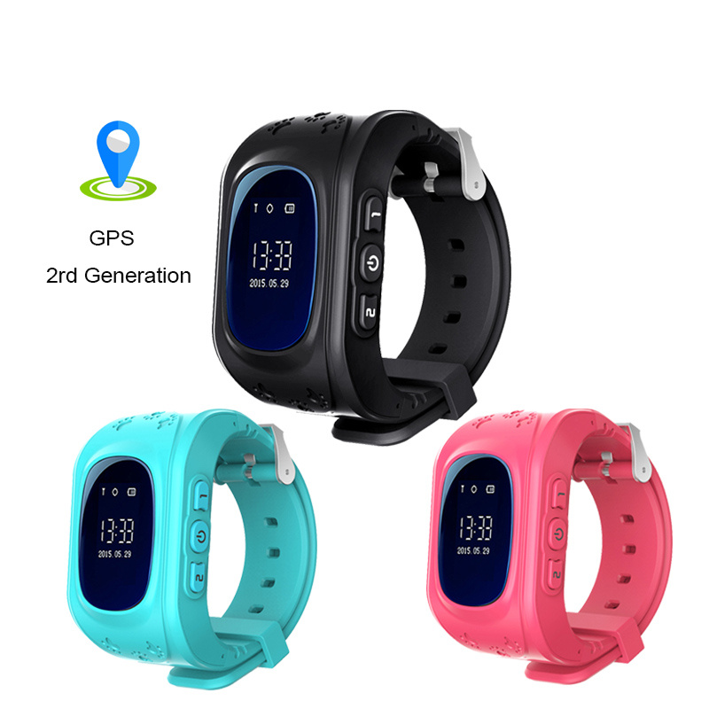 OGEDA Children Smart Watch Q50 Passometer Kids Watches Smart Baby Watch With GPS Second Generation Chip SOS Call Location Finder