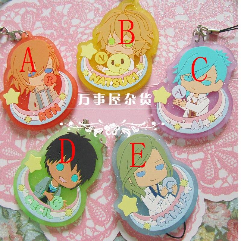 Uta no Prince-SAMA Nanami Haruka Acrylique Anime Keychain strap porte-clés 10 Options