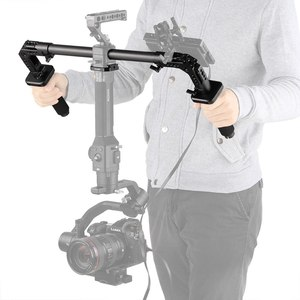 Image 5 - SmallRig Dual Handgrip With 25mm Rod Clamp Nato Rails for DJI Ronin S/Zhiyun Crane Series Handheld Gimbal   2210