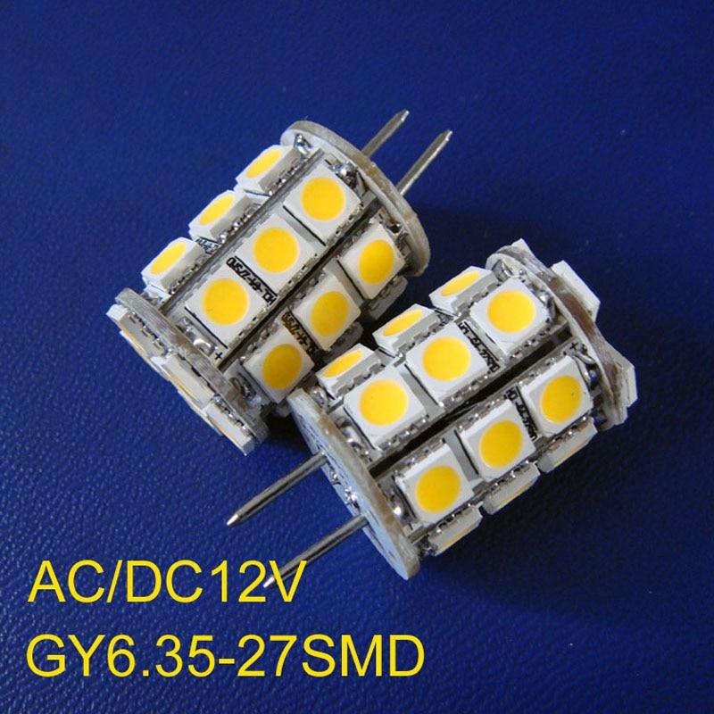 High quality 12VAC/DC 5050 <font><b>GY6</b></font>.35 <font><b>LED</b></font> light,G6 <font><b>LED</b></font> bulb,<font><b>led</b></font> <font><b>gy6</b></font> lamp 12v free shipping 10pcs/lot