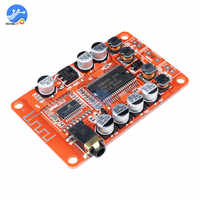 2*15W YDA138 Módulo de placa de amplificador estéreo Bluetooth 2,0 Clase D bajo claro amplificador de potencia de Audio Digital Coche auto amplificador