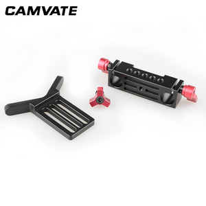 Image 3 - CAMVATE Lens Support Mount Rod Clamp Holder Bracket for 15mm Rod System Follow Focus C1107
