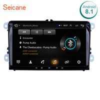 Seicane 9 Inch 2Din Android 8.1 Universal Car Radio For VW SEAT LEON CUPRA Golf Passat b5 b6 CC Sharan Polo Skoda Magotan EOS