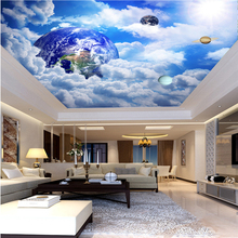 3D Ceiling Wallpaper Fantasy Universe Sky